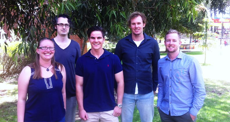 The Curtin team who won the Asia-Pacific regional heat of the Imperial Barrel Award