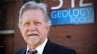 Distinguished geoscientist Professor Andrew Putnis, the new Director of The Institute for Geoscience Research