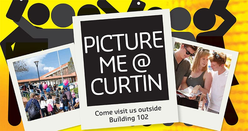 Picture me at Curtin