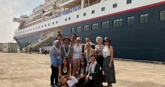 Young alumni stories: Four weeks on the high seas