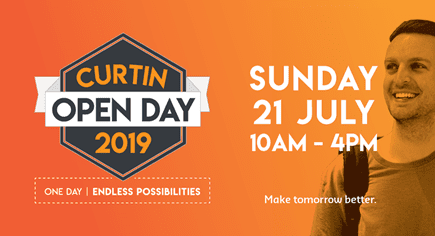 Volunteers needed – Curtin Perth Open Day 2019