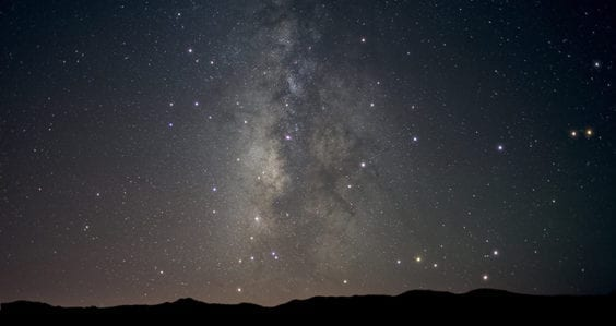 Finding faint fireballs in the dark desert sky