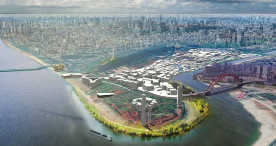 Design concept for Chinese waterfront site ranks in competition's top 10