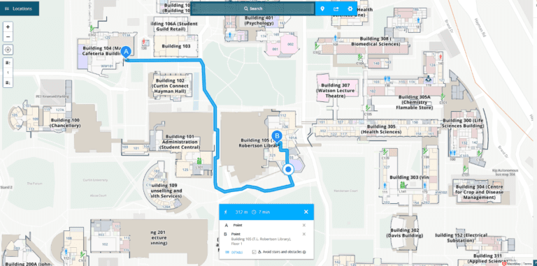 Australia Interactive Map.New Interactive Campus Maps Now Available News And Events Curtin