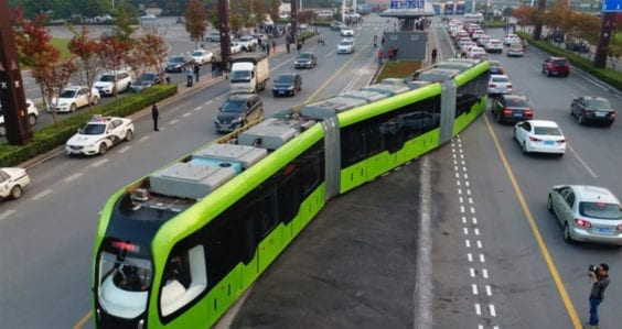 Could trackless trams replace light rail?
