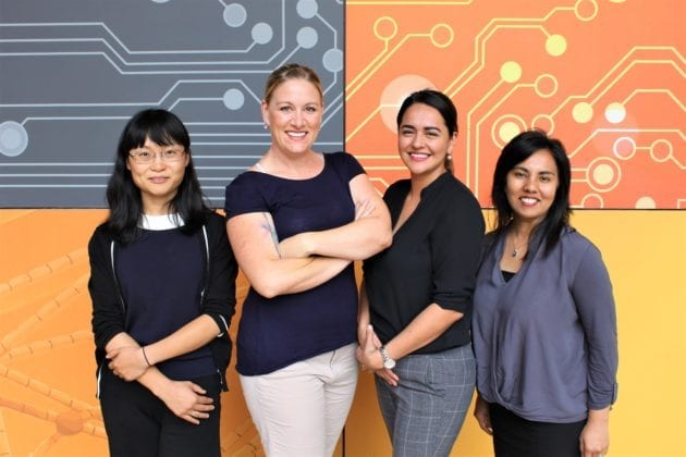 Four female researchers from Curtin