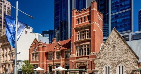 Historic Perth building's redesign reconnects alumni with Curtin