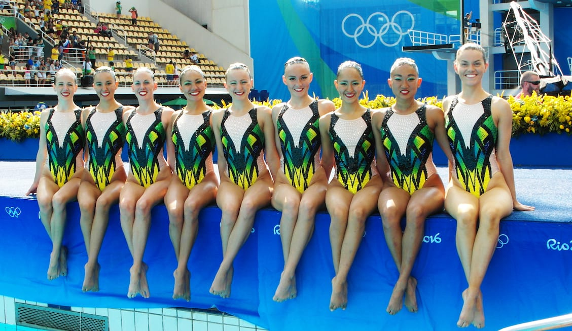 2016 Australian Olympic synchronised swimming squad