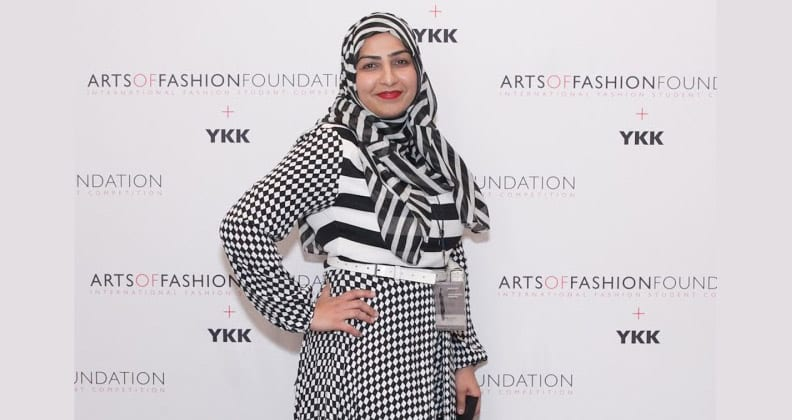 Rimsha Shakir posing at fashion event