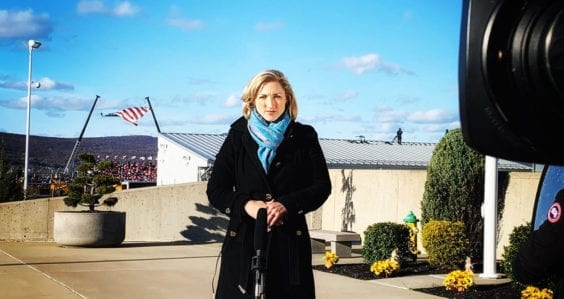 Interview: ABC's Kathryn Diss on Biden's inauguration and her journey from Curtin to frontline reporter